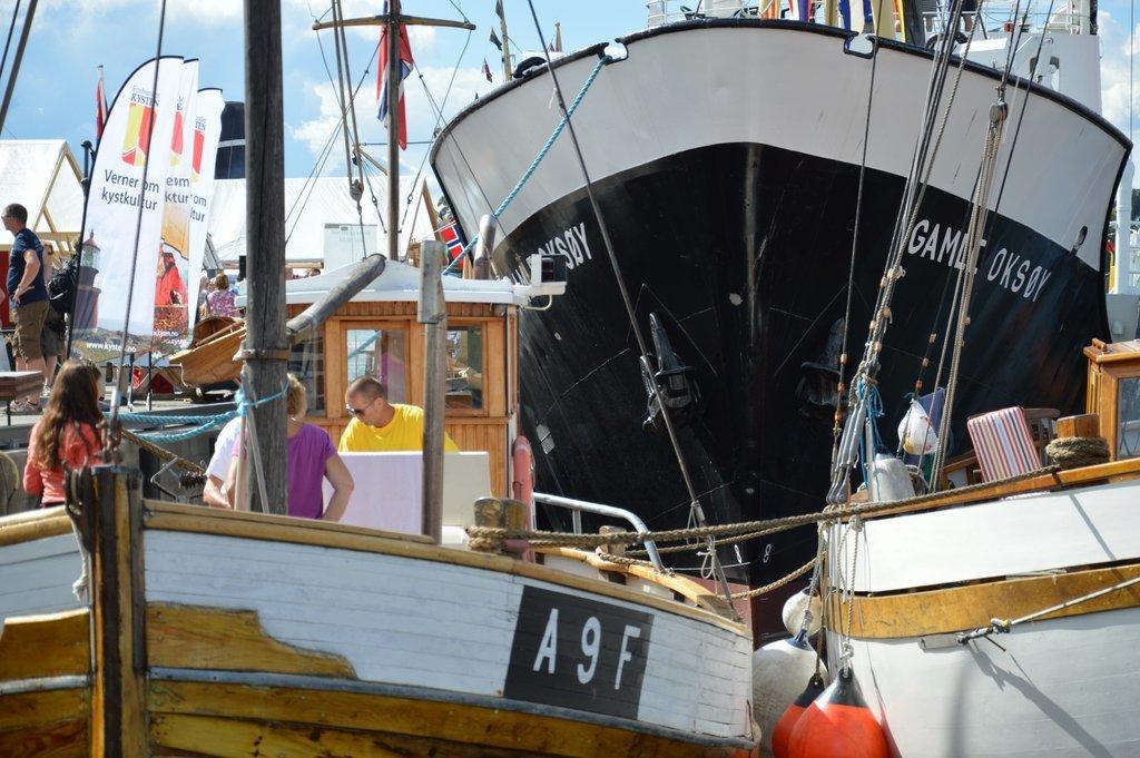 Båter i alle størrelser samles til Forbundet KYSTENs landsstevne.