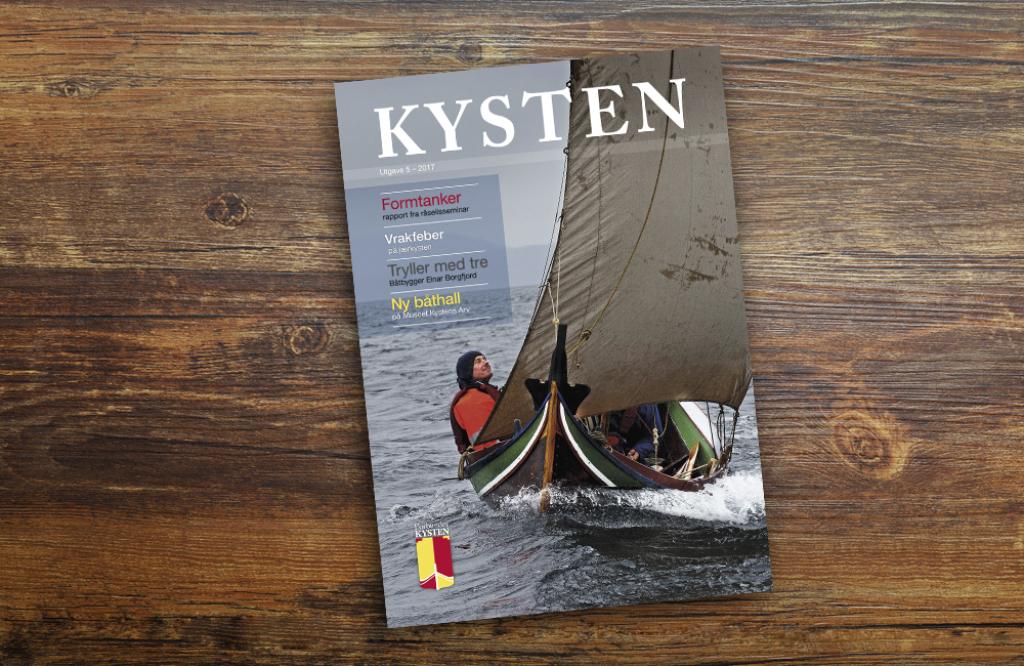 Tidsskriftet KYSTEN gis ut av Forbundet KYSTEN, oger både fagtidsskrift og medlemsblad. Forsidefoto på dette nummeret: KASAVI/Arne-Terje Sæter
