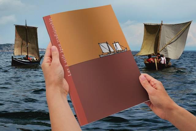 Nysgjerrig på tradisjonsbåtseiling? Forbundet KYSTEN og Flyt forlag hjelper deg i gang! Foto: Heidi Thöni Sletten/Odd Hesselberg Design