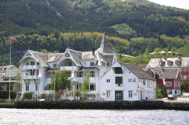 Historiske Sandven Hotel i Norheimsund er rammen rundt årets landsmøte.