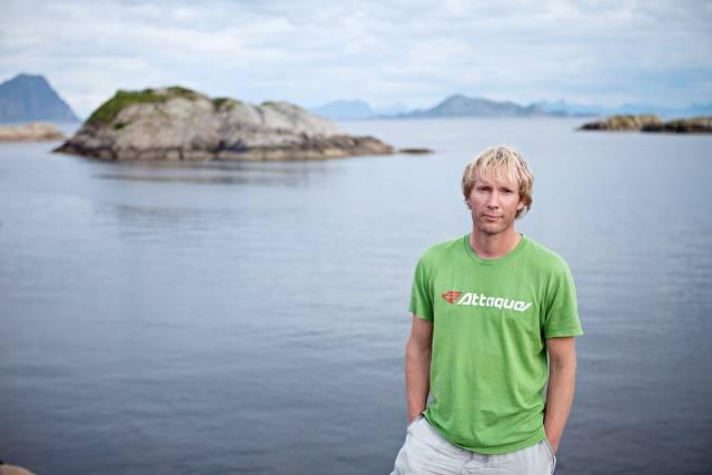 Per Erik Schulze fra Naturvernforbundet bidrar med sin fagkompetanse i miljøprosjektet vårt. Foto: Jo Straube